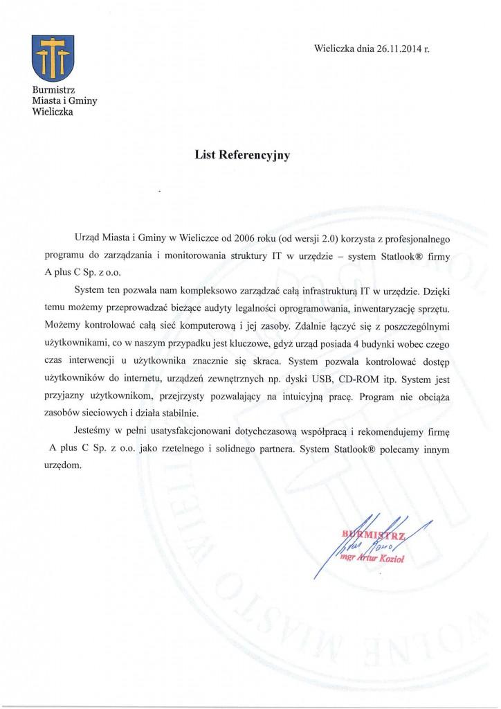 Kompleksowe zarządzanie zasobami IT - Urząd Miasta i Gminy Wieliczka